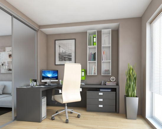 Bespoke Home Office Furniture Stylish Workspace Storage with Fitted Home Office Furniture Uk